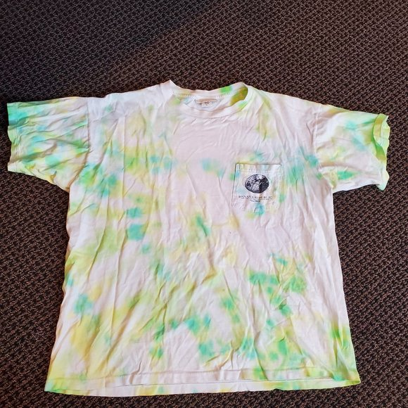 CUSTOM Tie Dye Banana Republic Tee